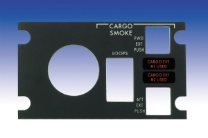 Aircraft Cabin Door Lock Panel - Type V