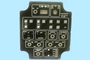 Avionic and Defence Simulator Systems Panels and Assemblies - new panel type