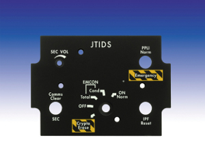 Avionic and Defence Simulator Systems Panels and Assemblies - JTIDS Panel