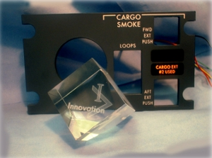Cargo Smoke Illuminated Information Panel - Innovation Award